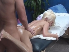 If u want to spend unforgettable time witnessing how beautiful male masseur is screwing beautiful large tittied blond hottie then examine this action! Watch hottie getting penis into mouth and snatch.